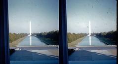 Batch G 0172 (dizzygum) Tags: vintage 3d stereo slide image 1959 washington monument