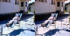 Batch G 0171 (dizzygum) Tags: vintage 3d stereo slide image 1959 sunning
