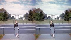 Batch G 0170 (dizzygum) Tags: vintage 3d stereo slide image 1959 washington white house