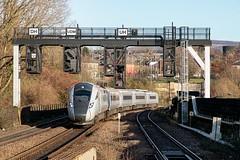 20200119_IMG_9806 (PowerPhoto.co.uk) Tags: tpe transpennineexpress train railway signals hitachi gantry stalybridge nova1 bimode 1p24 class802 802211