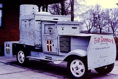 Armored danish resistance truck (daryl nicolet) Tags: danish denmark copenhagen truck cross frit war resist germany history 1945 german