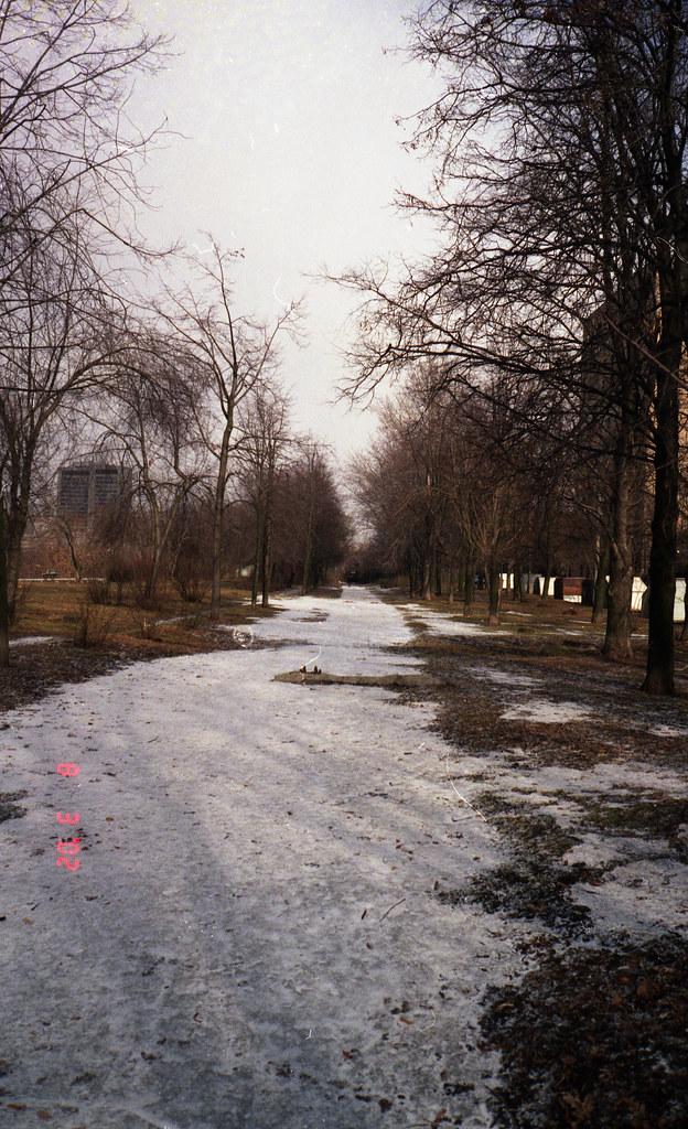 фото: Railway path Kutzovo - Badaevsky brewery 2002