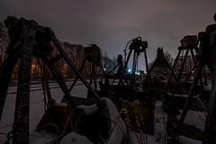 Solace in Uselessness... (Nomadic Complacency) Tags: industrial abandoned decay night nightphotography graveyard grim winter urbex sonyalpha sonya6000
