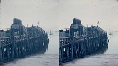 Batch G 0185 (dizzygum) Tags: vintage 3d stereo slide image 1959 pier