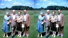 Batch G 0181 (dizzygum) Tags: vintage 3d stereo slide image 1959 posed people