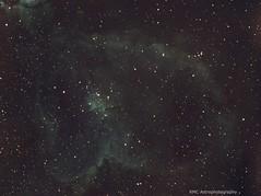 IC1805 SHO (sparkdawg068) Tags: texas zwoasi1600mm telescope ioptron software space sky stars nebula nebulosity