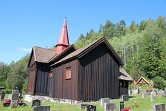 IMG_6362 (avsfan1321) Tags: norway numedal buskerud rollag familyreunion rollagstavkirke stavechurch church kirke stavkirke wood architecture