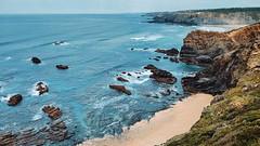 Algarve (mondogross) Tags: ocean beach portugal rocks algarve
