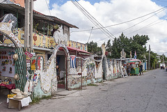 Fusterlandia 10 (jolynne_martinez) Tags: joséfuster fusterlandia street neighborhood art streetart mosaic mosaics cuban cuba cubanisms havana habana jaimanitas shops houses homes nikkor nikon nikond60