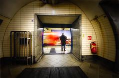 There's always another (singulartalent) Tags: markhigham london londonunderground longexposure slowexposure symmetry thames train tube tunnel uk