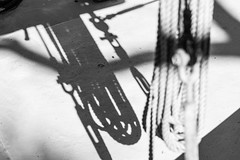 keys-rope-shadows-2-bw (markdtroy) Tags: blackwhite bw shadow nikon d810