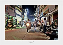 Street photography (Rajavelu1) Tags: india art availablelight creative streetphotography handheld colourstreetphotography streetlife streetscene handheldnightphotography artdigital candidstreetphotography