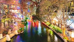 NYE_040 (allen ramlow) Tags: riverwalk san antonio texas holiday lights night long exposure city urban river sony alpha