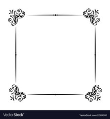 classic frame scroll on white background (ashtonbeaudoin2000) Tags: classic frame scroll white background vintage design vector illustration retro decoration floral ornate element art border swirl style decorative ornament banner card pattern flourish isolated elegant label antique wedding classical corner old abstract calligraphy baroque graphic invitation