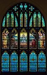 North Window, by Tiffany Studios (janedsh) Tags: tiffany wayne county louis comfort church reid memorial presbyterian richmond photo by jane holmanphotoscom indiana louiscomforttiffany photobyjane reidmemorialpresbyterianchurch waynecounty