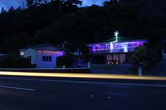 Christmas Lights (neil.bather) Tags: christmas lights thames coast new zealand house purple trails