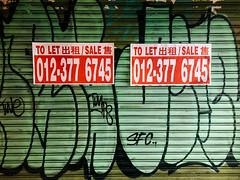 to let (rick.onorato) Tags: kuala lumpur malaysia asia sign graffiti