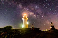 Milkyway shot of Naidi Lighthouse (ericmontalban) Tags: milkyway batanes naidilighhouse bascolighthouse philippines