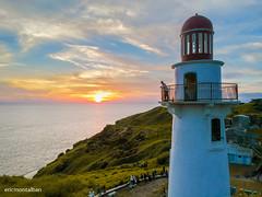 Naidi Lighthouse Sunset (ericmontalban) Tags: lighthouse naidilighthouse basco batanes philippines sunset drone aerialshot