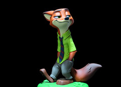 Nick (Digital Generator) Tags: toy toys collecting collection disneyinfinity disney zootopia nick gaming
