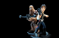 HanandChewie (Digital Generator) Tags: starwars star wars collecting collection toy toys han hansolo chewbacca chewie disney infinity disneyinfinity