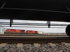 CP 493 (Tunnel Blanket) Tags: cp canadianpacific es44ac 493 minneapolis minnesota shorehamyard