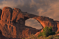 USA - Utah - sunset at Arches National Park (AlCapitol) Tags: usa us etatsunis nikon d810 moab utah sunset coucherdesoleil arche archesnationalpark