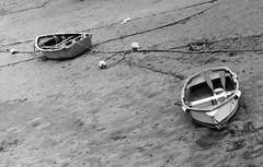 Ría de San Ciprián. (fcuencadiaz) Tags: retro80 m2 monocromo byw blancoynegro sanciprián lugo galicia barcas analogica fotografiaargentica film fotografiaquimica 35mm leica plustek pelicula pueblosespaña costas reveladomanual reveladoquimico rangefinder telemétricas elmar490