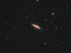 The Cigar Galaxy - M82 (cfaobam) Tags: lodestar celestron pixinsight astronomie deepsky goto deutschland germany astrophoto astrofoto bayern astrofotografie cfaobam astronomy telescope teleskop odenwald obernburg miltenberg aschaffenburg m82 starburstgalaxie sky astrophotography zwoasi asi1600
