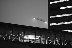 Downtown Angles (UrbanAstronaut.Bike) Tags: minneapolis minnesota downtown city urban light angles reflections lines thirds fujixe3 fujixseries meike35mmf17 structure building glass window