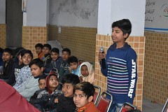 Character Development  Training (Al-Khidmat Foundation) Tags: lecture training akf wazir abad child mother