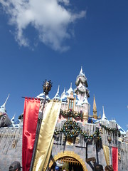Front of Sleeping Beauty's castle (c_nilsen) Tags: disneyland anaheim orangecounty themepark digital digitalphoto california toontown