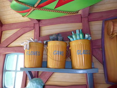 Recycle bins (c_nilsen) Tags: disneyland anaheim orangecounty themepark digital digitalphoto california toontown