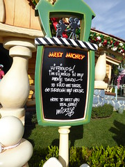 Meet Mickey sign (c_nilsen) Tags: disneyland anaheim orangecounty themepark digital digitalphoto california signs toontown