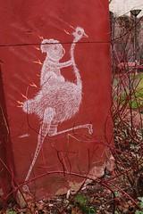 Matt Thieu_8758 rue Fernand Léger Paris 20 (meuh1246) Tags: streetart paris mattthieuruefernandléger paris20 animaux koala oiseau autruche