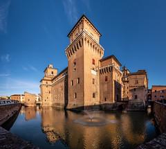 Castello Estense - Ferrara (Vanni Lazzari - VL) Tags: ferrara castello estensi