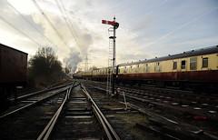GCR 99696 (kgvuk) Tags: gcr greatcentralrailway railways trains steam locomotive steamlocomotive steamengine steamtrain 73156 brstd5mt 460 swithlandsidings