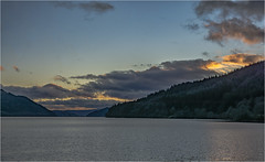 Loch Long in the evening #2 (Clive1945) Tags: d7100 scotland landscape loch sunset water