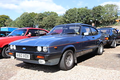 Ford Capri 2.8 Injection A160XOX (Andrew 2.8i) Tags: mk3 mk 3 iii mark liftback hatchback hatch coupe sportscar sports ford capri show uk surrey weybridge track circuit brooklands 50th anniversary v6 cologne 2800 28 special injection a160xox