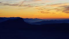 Soleil couchant Alpes et Chartreuse (Sam Photos - Sony full frame) Tags: soleil couchant sunset montagne bugey chat du dent le daixlesbains