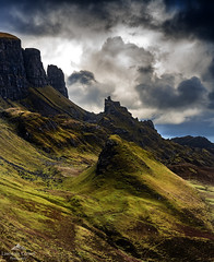 Where legends are made. (lawrencecornell25) Tags: landscape scenery scotland skye scenic cloudy isleofskye quiraing hillside nature outdoors nikond850 travel adventure