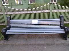 Farsk (Buitenzitten) Tags: bænk penkki bank banc bench bekkur banco bankje parkbench fff sitte