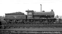 20/06/1964 - York (50A) MPD. (53A Models) Tags: britishrailways wordsell raven lner j27 060 65894 steam york 50a mpd train railway locomotive railroad