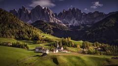 Santa Maddalena (Andrew G Robertson) Tags: val di funes dolomiti dolomites italy church village south tyrol st magdalena