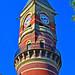 Jefferson Market Library Clock Tower on 6th Ave Greenwich Village Manhattan New York City NY P00415 DSC_0918