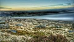 West Nab (Martin Tidbury) Tags: westnab heather moorland moor nikkor nikond750 nikon inversion lowcloud huddersfield deerhill long exposure longexposure