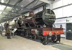Midland Compound 1000 (davids pix) Tags: 1000 41000 midland railway compound samuel waite johnson express preserved steam locomotive highley engine house museum severn valley 2003 23032003