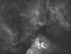Carina Nebula (NGC 3372) (atanjs) Tags: singapore astronomy astrophotography dso 6se astrometrydotnet:id=nova3892887 astrometrydotnet:status=solved