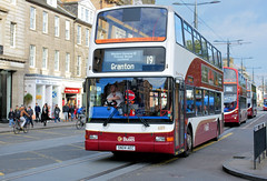 Princes Lothian (2 of 2) (Jungle Jack Movements (ferroequinologist) all righ) Tags: lothian buses shandwick place wright eclipse gemini volvo trident president road princes street st john chuch edinburgh scot scottish scotland royal mile castle double decker johns bus transport service carry take journey convey move travel passenger route stop ring bell card city suburb trip carriage vehicle depot driver seat ticket go hail mobile pass coach drive number tour voyage tourism cover livery commuter tourist holiday town mind gap
