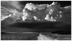 Heaven's Gate (una cierta mirada) Tags: sky heaven landscape nature clouds cloudscape land earth bnw blackandwhite